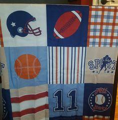 Sports Fabric bathroom shower curtain w hooks baseball, football, soccer Sports Bathroom, Football Soccer, Baseball, Bathroom Shower Curtains, Hooks, Fabric, Baseball Promposals, Tejido, Tela