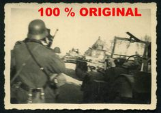 orig. WK2 TECHNIK FOTO - DEUTSCHE PANZER Kp. MARSCHIERT IN BELGIEN EN 13.5.1940