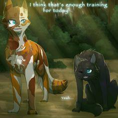 Warrior Cats Series, Warrior Cats Books, Warrior Cats Fan Art, Warrior Cat Drawings, Wolf Drawings, Love Warriors, Spirited Art, Comic, Cat Life