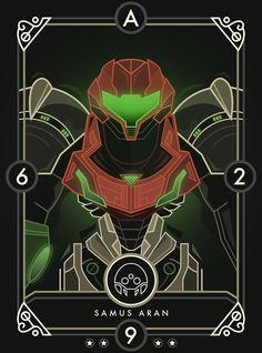 Samus Aran, Metroid.