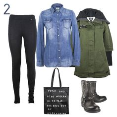 How to: Jean shirt