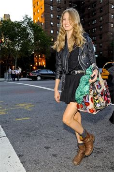 dig her style... Lindsey Wixson