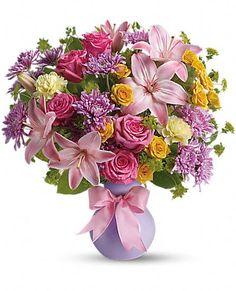 Teleflora's Perfectly Pastel Flowers