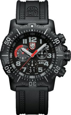 Luminox Watch Navy Use ANU Chronograph #2015-2016-sale #add-content #bezel-unidirectional #black-friday-special #bracelet-strap-rubber #brand-luminox #case-depth-13-2mm #case-material-black-pvd #case-width-45mm #chronograph-yes #classic #date-yes #delivery-timescale-1-2-weeks #dial-colour-black #gender-mens #movement-quartz-battery #new-product-yes #official-stockist-for-luminox-watches #packaging-luminox-watch-packaging #sale-item-yes #style-sports #subcat-sea #supplier-model-no-xs-4241…
