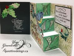 Quietfire Creations: JOY Step Card - I Will Honour - It Is Christmas
