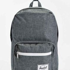 Herschel Supply Co. Pop Quiz Charcoal Cross-Stitch Backpack- Charcoal One