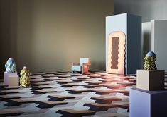 The Art of Performance Quirky Collection by Bolon – Trendland Online Magazine Curating the Web since 2006 Bolon Flooring, Vinyl Flooring, Stainless Steel Brackets, Flooring Companies, World Leaders, Family Traditions, Tile Design, Innovation Design, Layout