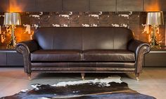 Chelsea Leather Sofa - High Quality, Hand Crafted Leather Sofas: Darlings of Chelsea