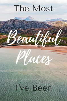 I bet you've visited some gorgeous destinations. You know — those places that take your breath away. I know I have. So I put together a list of some of the most beautiful places I've been. Click through to find out what destinations are on my list.