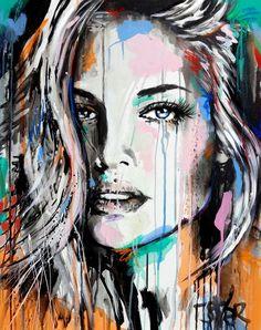 Loui Jover art new work painting VALERY
