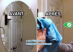 2 Recettes de Grand-Mère Pour des Miroirs Impeccables SANS TRACE.
