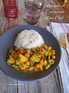 Cucina Mon Amour: Curry di Verdure e Riso Pilaf