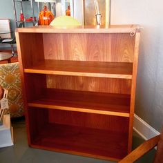 Teak Bookcase $249 #available