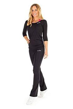WINSHAPE Damen Super Leichtes Functional 3/4-arm Shirt Aet107, Slim Style Fitness Yoga Pilates ¾-arm - Lerne Pilates Style Fitness, Sport Fitness, Pilates Training, Yoga Pilates, Leggings, Jumpsuit, Shirts, Boots, Super