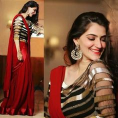 For details / order please dm or Whatsapp on . Silk Saree Blouse Designs, Fancy Blouse Designs, Saree Blouse Patterns, Red Lehenga, Lehenga Choli, Anarkali, Indian Designer Outfits, Designer Dresses, Designer Sarees