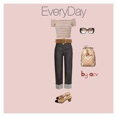 """EveryDay"" by amparo-calbacho on Polyvore featuring moda, Michael Kors, Miss Selfridge, Gucci, Chanel, Dorothy Perkins y Valentino"