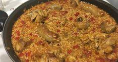 Ingredientes: 400gr. de arroz 1/2 pollo 1/2 conejo 200gr de costilla de cerdo 4 butifarras pequeñas 3 tomates rallados 1 pim...