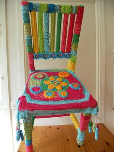 Operation C.H.A.I.R by Knit Crochet Knot, via Flickr