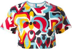 Dsquared2 cropped top
