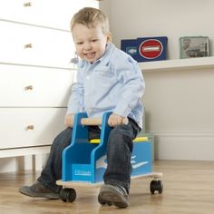 Zoomster Truck - available direct from KidsPlayKit with Free Next Day Delivery! Come take a look at our wide range of UK made wooden toys!