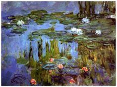 Water-Lilies, 1915-- Claude Monet
