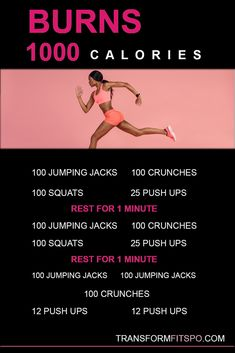 Burn 1000 calories at home. Burn 1000 calories to lose belly fat. , Burn 1000 calories at home. Burn 1000 calories to lose belly fat. Extreme Fitness, Extreme Workouts, Fitness Workouts, Fitness Hacks, Fitness Motivation, Workout Routines, Workout Tips, Fitness Quotes, 2 Week Workout