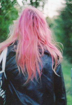 pink hair special effects hair dye