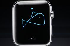 Send pictures to friends with this simple scribble feature on Apple Watch