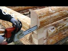Amazing Intelligent Log Cabin Build Skills - Fastest Building Wooden House With Your Own Hands Model Boat Plans, Boat Building Plans, Building A House, Diy Log Cabin, How To Build A Log Cabin, Woodworking Techniques, Woodworking Projects Plans, Youtube Woodworking, Woodworking Furniture
