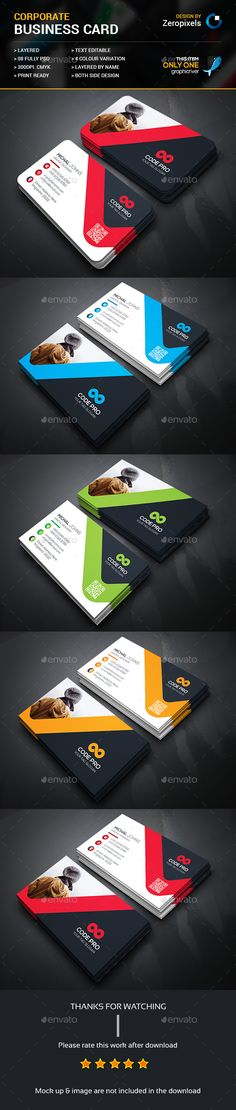 Corporate Business Card Template PSD. Download here: http://graphicriver.net/item/corporate-business-card/15934551?ref=ksioks