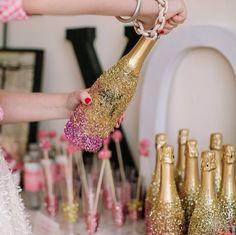 Champagne. Bubbly. Fizz.