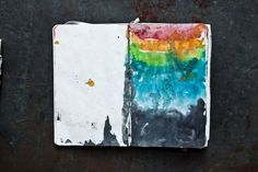 There's sand in my book. And rainbows.