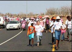 Blisters for Sisters - Kasane Breast Cancer Awareness Walk -- Chobe Safari Lodge & Nata Lodge
