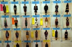 IlPost - The board of models is displayed backstage before the presentation of Tsumori Chisato's ready-to-wear fall/winter 2014-2015 fashion collection in Paris, Saturday, March 1, 2014. (AP Photo/Michel Euler) - The+board+of+models+is+displayed+backstage+before+the+presentation+of+Tsumori+Chisato's+ready-to-wear+fall/winter+2014-2015+fashion+collection+in+Paris,+Saturday,+March+1,+2014.+(AP+Photo/Michel+Euler)