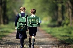 Should siblings go to the same school? Two sisters explore the pros and cons of keeping it in the family Kids Going To School, Walk To School, School Wear, School Boy, Boys Uniforms, School Uniforms, Two Sisters, Education System, Boy Photos