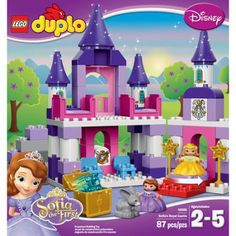 Lego Duplo Sofia the First Sofia the First Royal Castle, Multicolor