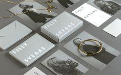 Tilly Sveaas Jewellery by Bond, United Kingdom. #branding #packaging #fashion