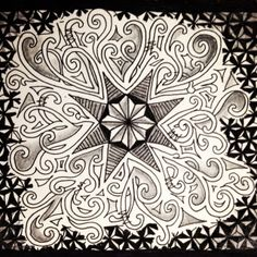 Zentangle Doodle Patterns | Share