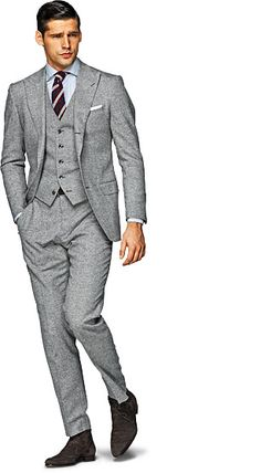Light Grey Suit - Suit Supply
