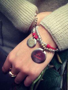 Bracciale con Moneta e Monetina CIVITA bracelet queriot little coin rose gold love silver fashion beautiful moda regalo