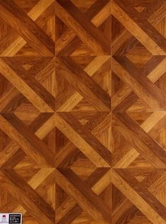 This would be the floor in the apartment. It's a wood pattern that maintains a symmetrical intersection that has defined art deco. It would be heated throughout.