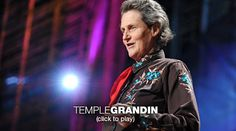 "Temple Grandin: The world needs all kinds of minds  Temple Grandin, diagnosed with autism as a child, talks about how her mind works -- sharing her ability to ""think in pictures,"" which helps her solve problems that neurotypical brains might miss. She makes the case that the world needs people on the autism spectrum: visual thinkers, pattern thinkers, verbal thinkers, and all kinds of smart geeky kids."