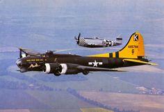 Boeing B-17G 44-85784 G-BEDF Duxford UK - ~ BFD