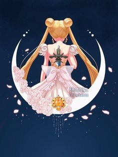 My Princess Serenity design is up now for 24 hours at Teefury! EDIT: The sale is over, thank you so much everyone!