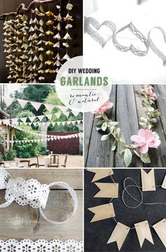 24 DIY garlands, banners & backdrops | Best Day Ever