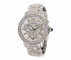 Time is ticking!! Get her this Judith Ripka watch. Also comes in rosetone and…