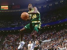 Classic Shawn Kemp dunk! #throwback