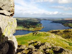 Summit of Hallin Fell overlooking Ullswater - The Lake District, Cumbria