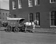 Horse and Richmond Ice wagon by The Library of Virginia, via Flickr