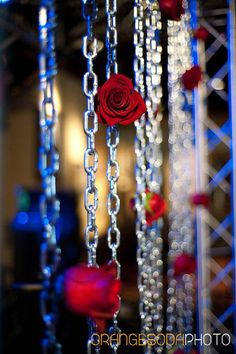 Rock n Roll, red and black, Las Vegas Wedding, Scheme Events wedding planner